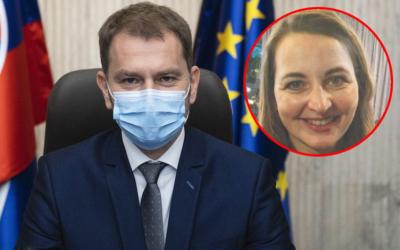 Pavlína Matovičová si poriadne ZAVARILA: Neuveríte, ako kryje premiér svoju ženu!